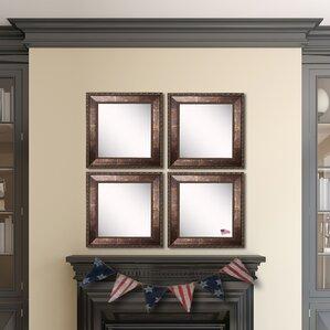 Bronze Wall Mirror bronze square mirrors you'll love | wayfair