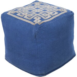 Cheyanna Pouf Ottoman by World Menagerie