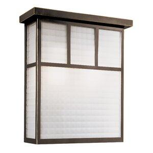 Garden Box 1-Light Outdoor Flush Mount