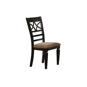 Otisco Double X Back Upholstered Dining Chair (Set of 2) by Darby Home Co