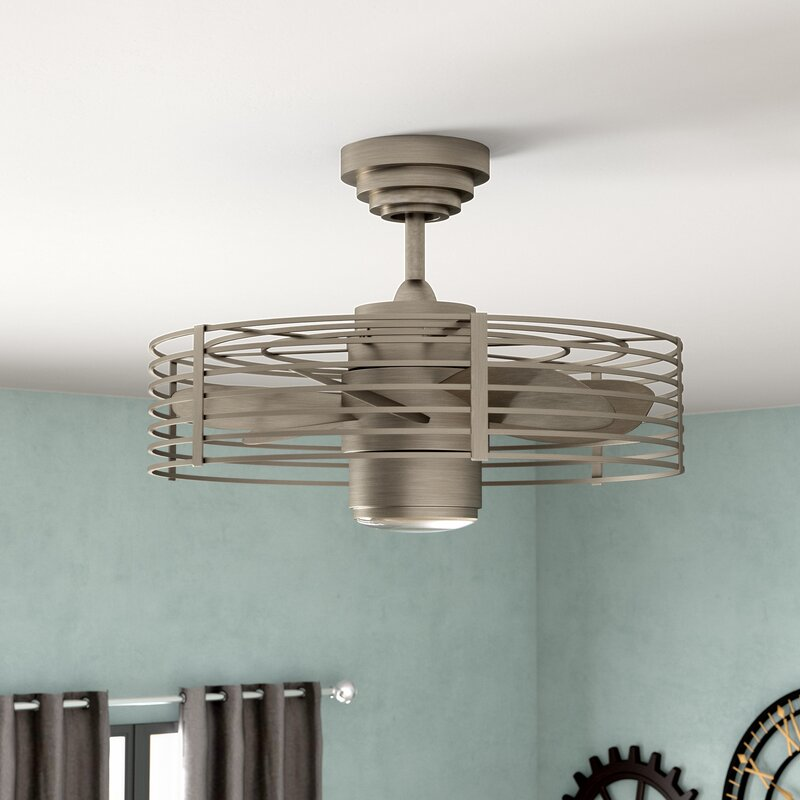 23 Quot Glasgow 7 Blade Ceiling Fan With Wall Remote Amp Reviews