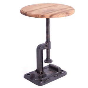 Espinoza Clamp Adjustable Height Bar Stool by 17 Stories