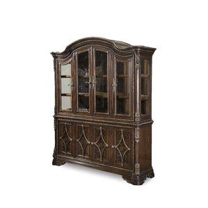 Hepburn Lighted China Cabinet by Astor..