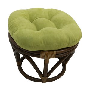 Declan Papasan Ottoman by Beachcrest Home