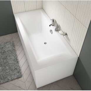 Lime Double Ended 1700mm x 750mm Bathtub by Home Etc