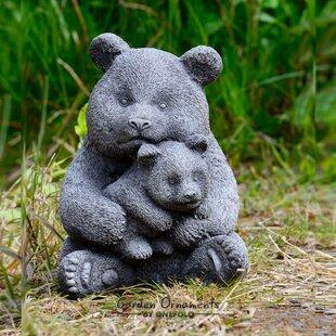 Garden stone ornaments wayfair panda stone garden statue workwithnaturefo