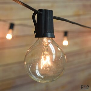25-Light 28 ft. Globe String Lights