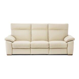 Lapo Power Leather Reclining Sofa