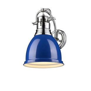 Blue Shade Sconces Youll Love Wayfair
