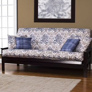 Arlberg Zipper Box Cushion Futon Slipcover by Darby Home Co