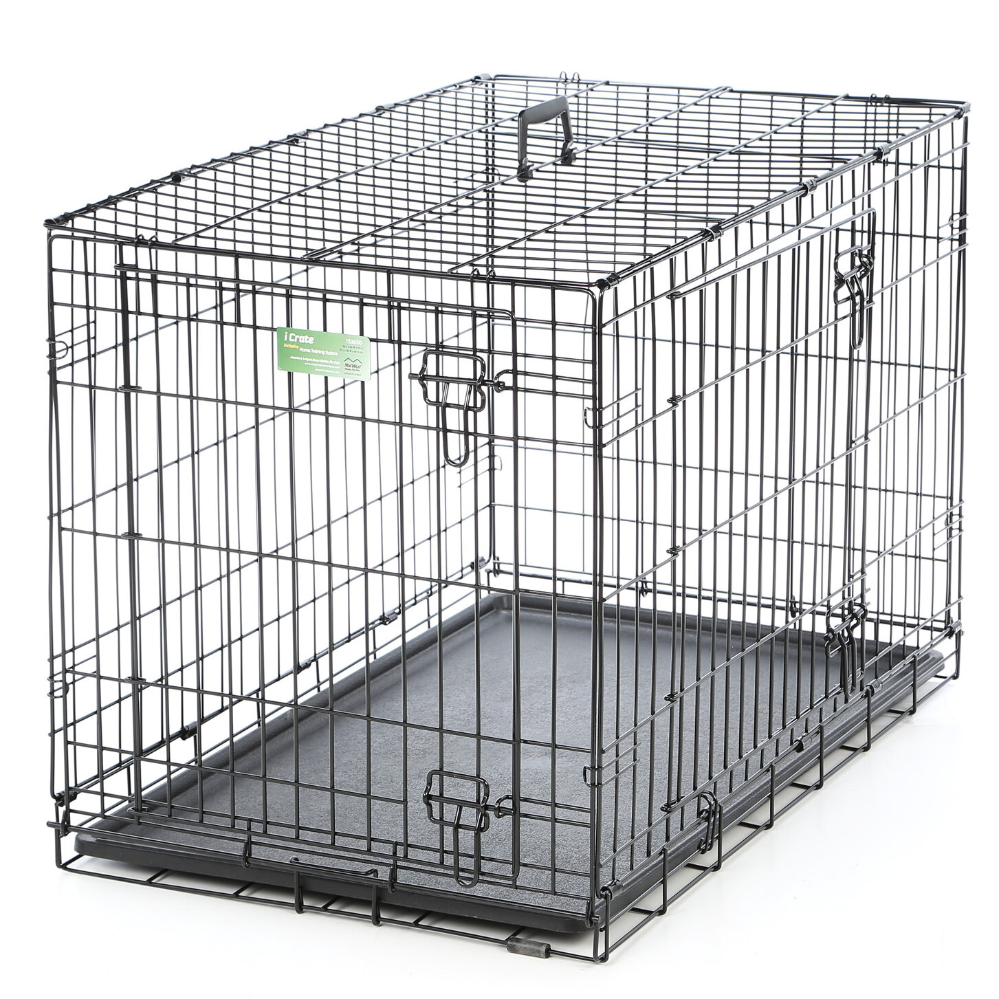 Midwest Homes For Pets Icrate Double Door Pet Crate Reviews