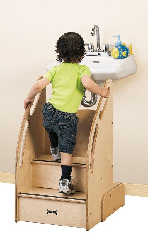 Jonti Craft Kydz Suite Up N Down Step Stool With Storage
