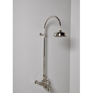 exposed pipe shower . Thermostatic Exposed Shower Set with Lever Handle Pipe  Wayfair