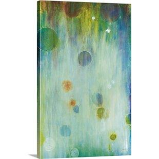 U0027Blown Glassu0027 By Liz Jardine Painting Print On Canvas
