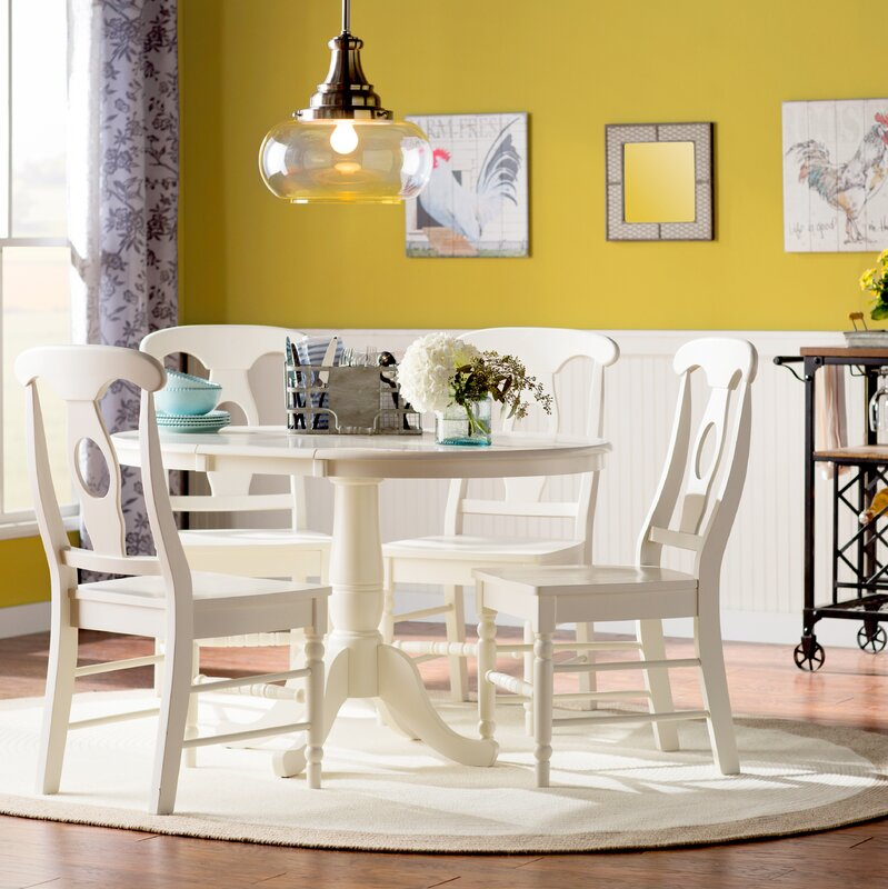 Lark Manor Overbay Extendable Dining Table Amp Reviews Wayfair