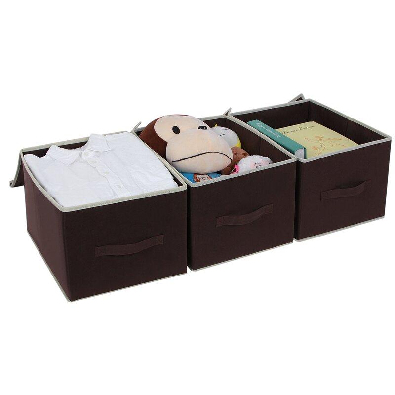 Foldable Storage Box with Lid  sc 1 st  Wayfair & Songmics Foldable Storage Box with Lid u0026 Reviews   Wayfair