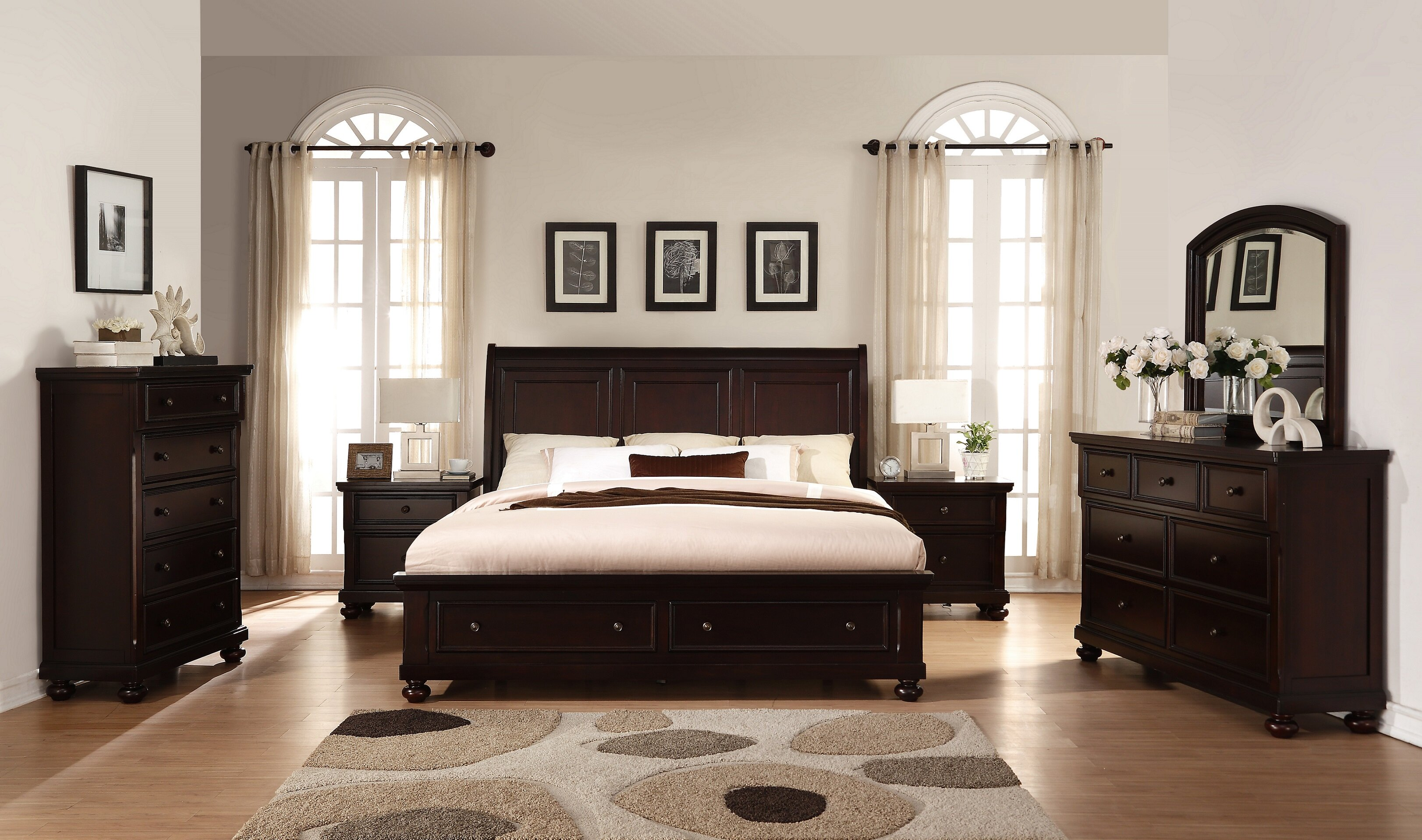 Breakwater Bay Jaimes King Platform 6 Piece Bedroom Set | Wayfair