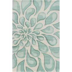 Patterned Area Rugs Chandra Stella Patterned Contemporary Wool Beigeaqua Area Rug .