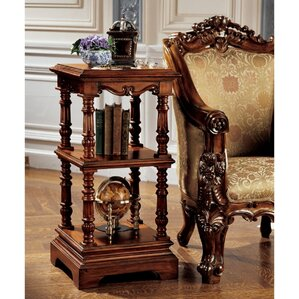 The Lord Pimlicoe Etagere End Table by Design Toscano