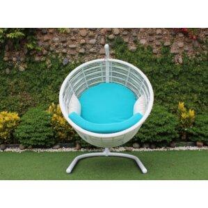 Brodersen Swing Papasan Chair by Bungalow Rose