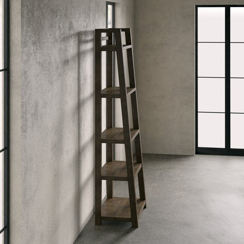 reputable site 7bb57 c716f Perspectives Leaning Ladder Bookcase