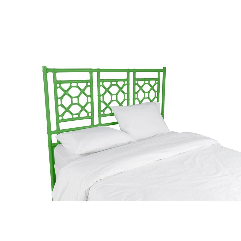 David Francis Furniture Lattice Open-Frame Headboard | Wayfair