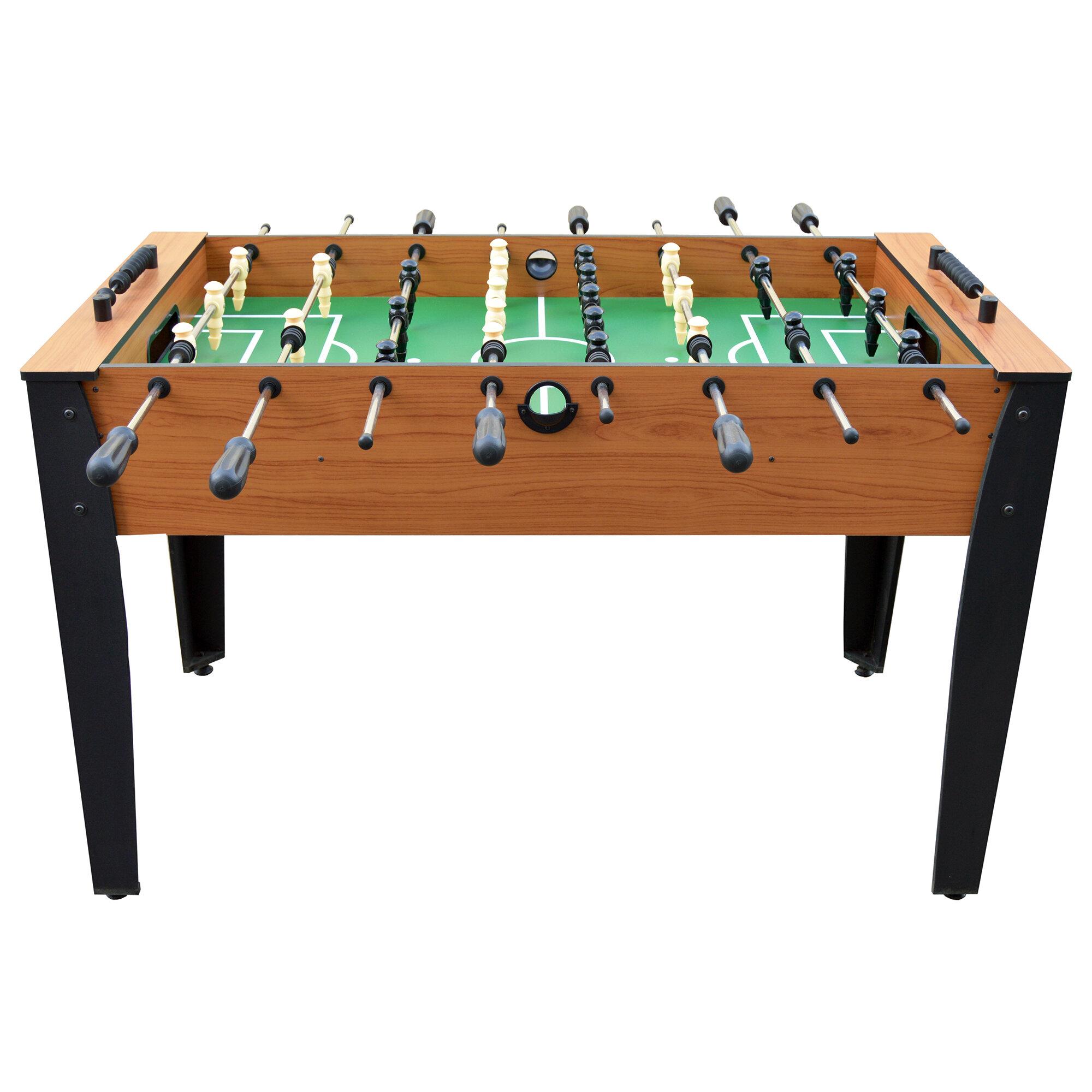 Hathaway Games Hurricane Foosball Table Reviews Wayfair - Single goalie foosball table
