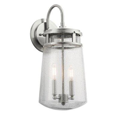 Breakwater Bay Tannis 2-Light Outdoor Wall Lantern