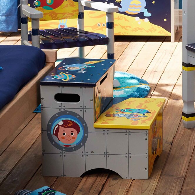 Fantasy Fields Outer Space Step Stool Wayfair