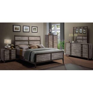 Rodrigues Melamine Sleigh Configurable Bedroom Set