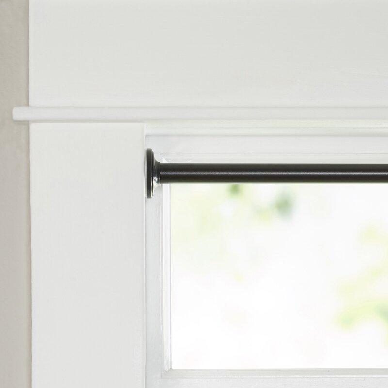 Wayfair Basics No Tools Blackout Tension Curtain Rod