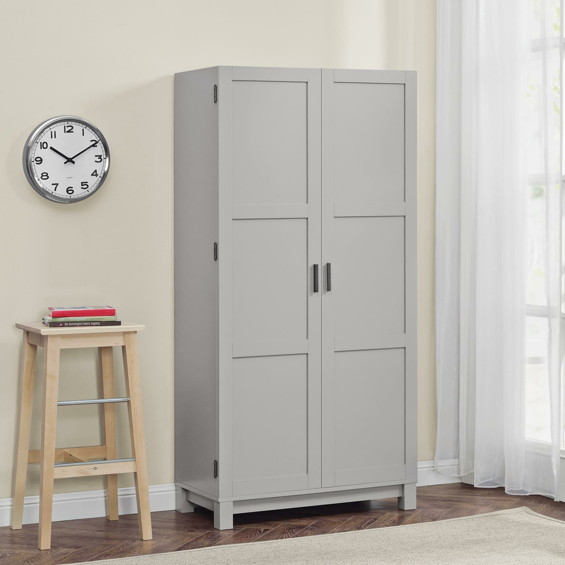 Mercury Row Callowhill 2 Door Storage Cabinet & Reviews