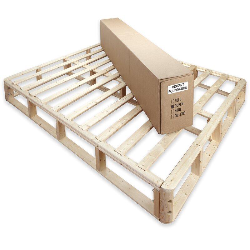 Alwyn Home 8 Wood Box Spring Reviews Wayfair