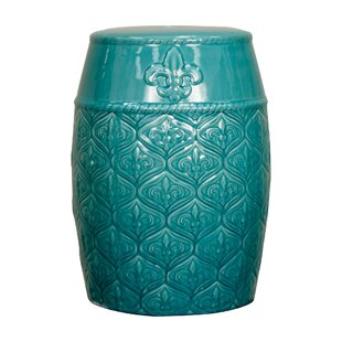 Merveilleux Spear Ceramic Garden Stool