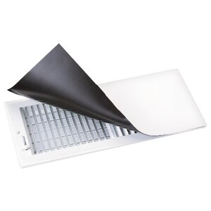 Metal Magnetic Surface Mount Vent Covers in White