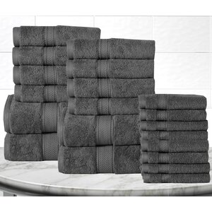 Gregoire Soft and Luxurious Cotton 20 Piece Towel Set
