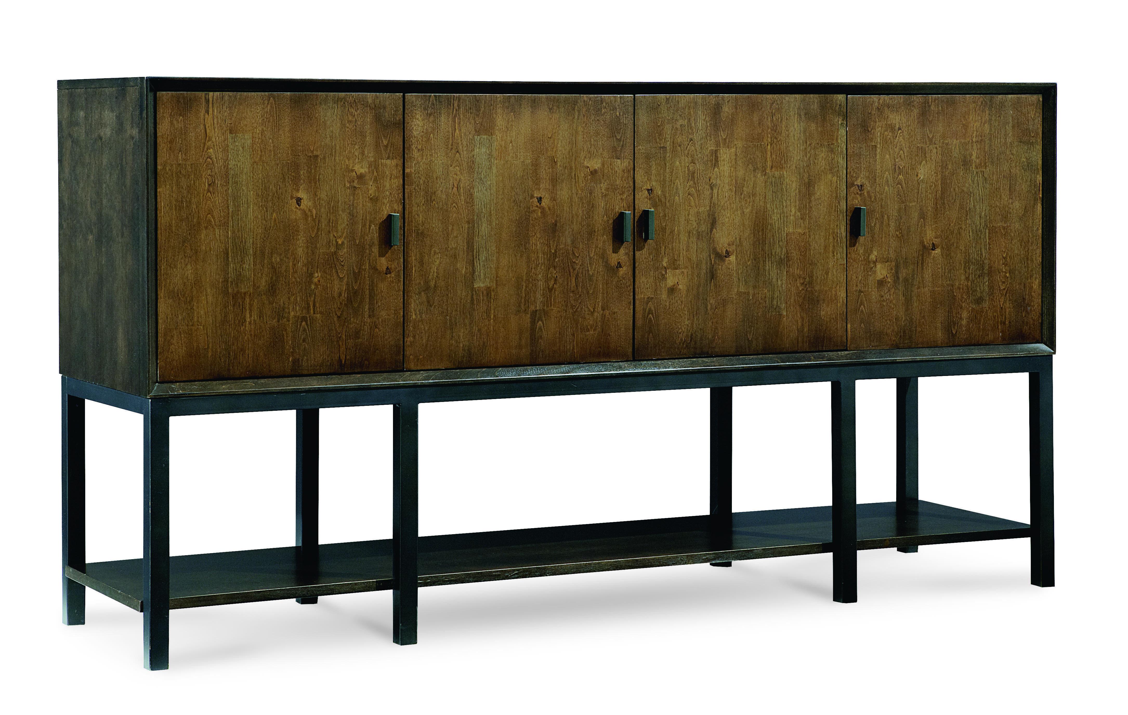 Credenza Dark Brown : Modern sideboards buffets allmodern