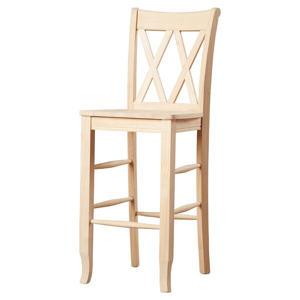 solid wood bar stools you ll love wayfair