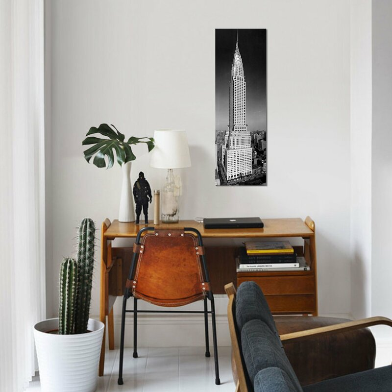 East Urban Home \'1930s-1940s Tall Narrow Vertical View of Art Deco ...