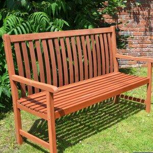 2-Sitzer Gartenbank Hamina aus Holz von Europa L..