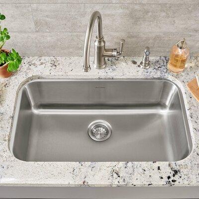 portsmouth 29 75   x 18   single bowl undermount kitchen sink american standard portsmouth 29 75   x 18   single bowl undermount      rh   wayfair com