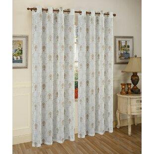 Fleur De Lis Sheer Curtains