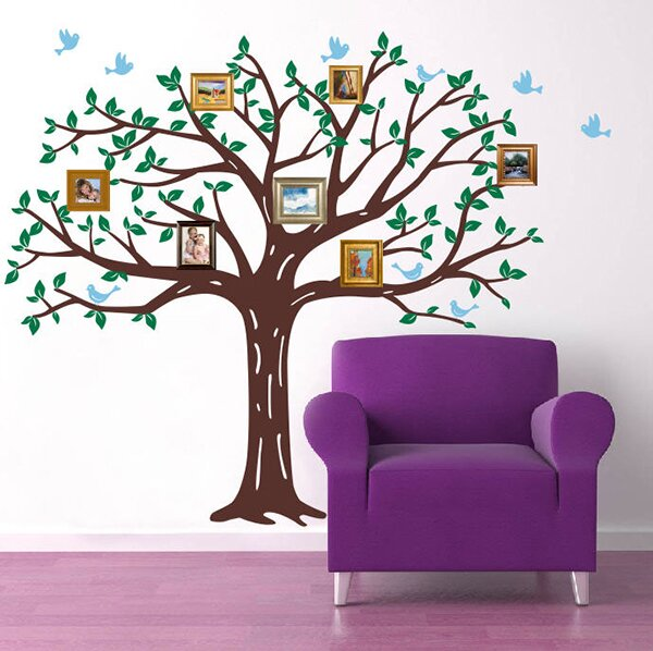 Family Photo Tree Wall Decal Part 39