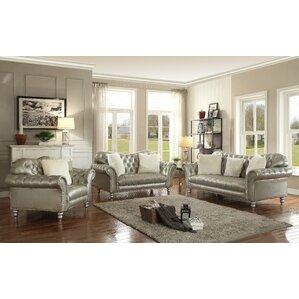 brown leather living room set. Malmesbury Configurable Living Room Set Leather Sets You ll Love  Wayfair