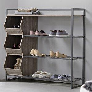 12 Pair Shoe Rack