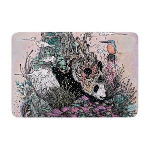 Mat Miller Land Of The Sleeping Giant Panda Memory Foam Bath Rug