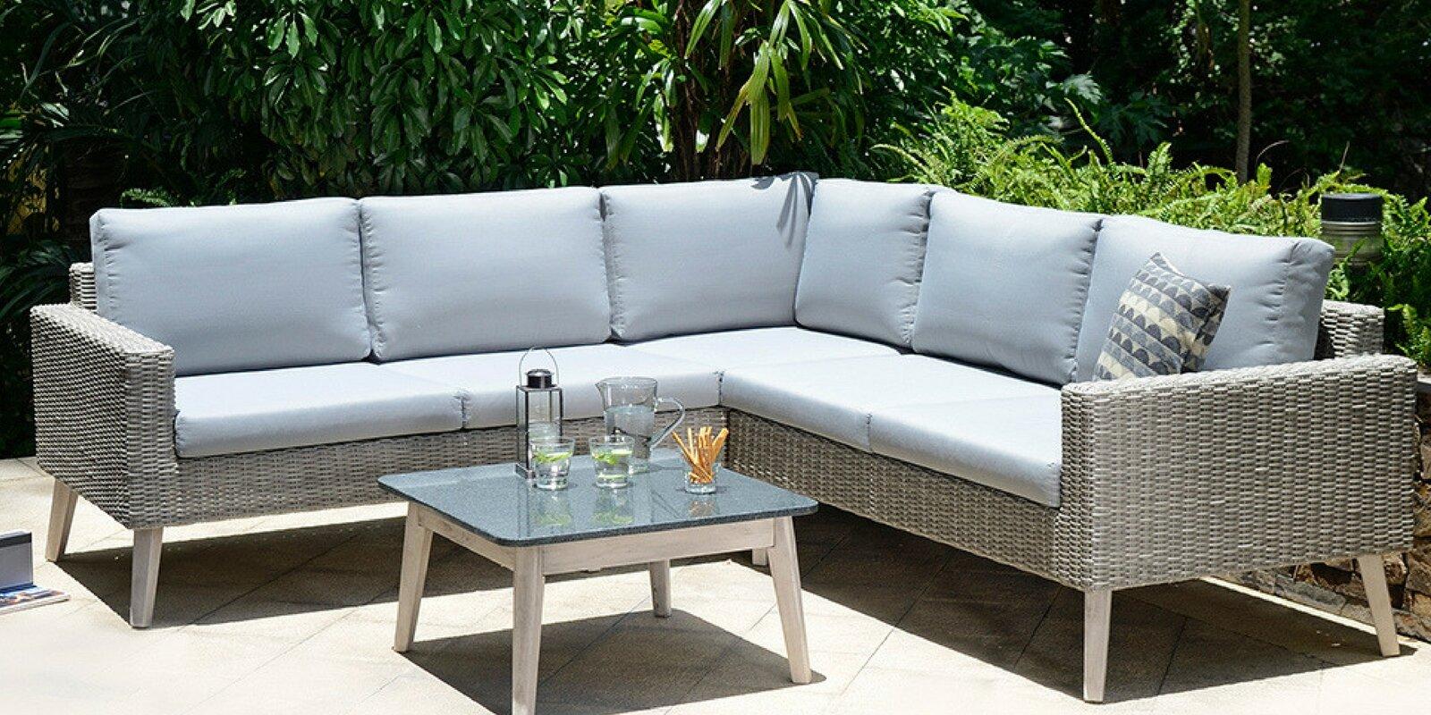 luxe modular sectional sofa