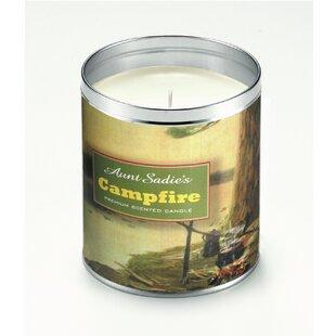 Lakeside Campfire Fireplace Jar Candle