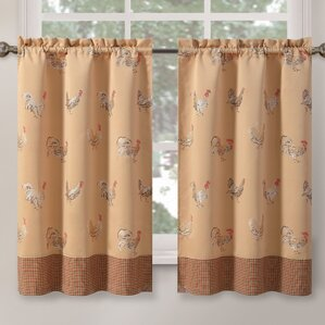 Rooster Cafe Curtains