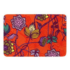 Garden Blooms by Gill Eggleston Bath Mat